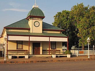 Croydon, Queensland - Croydon Shire Hall, 2011