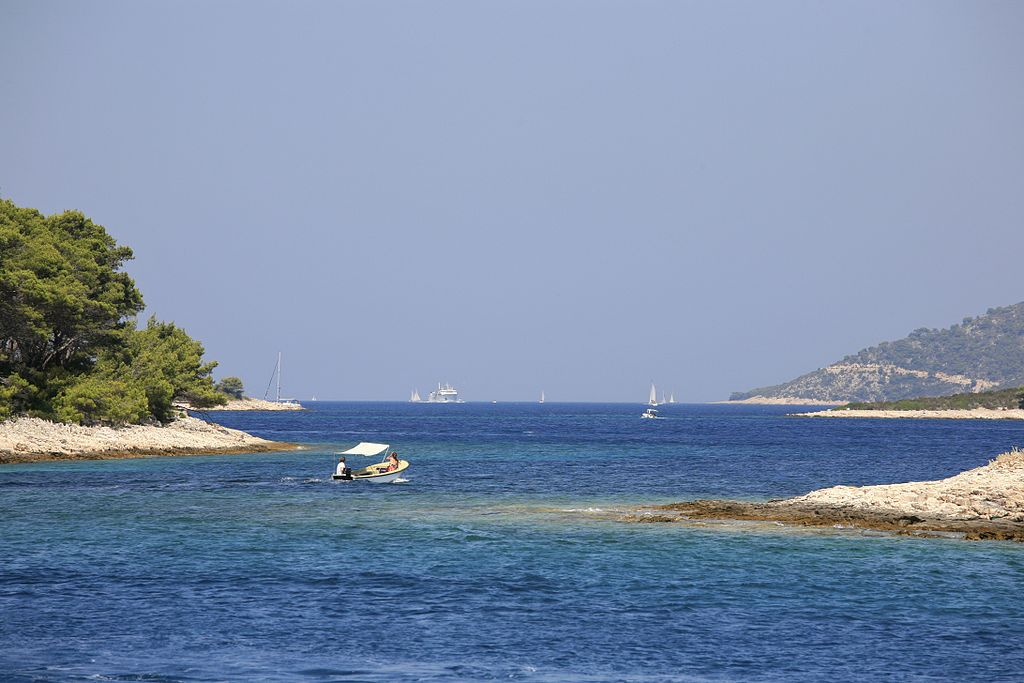 Costa de Dalmacia.