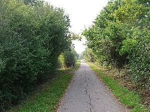 Cuckoo Line - Cuckoo Trail between Polegate and Hailsham