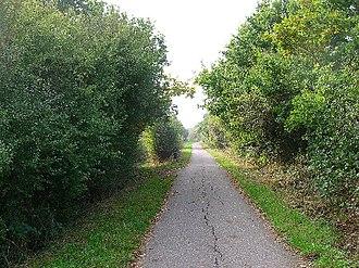 Polegate - Cuckoo Trail between Polegate and Hailsham