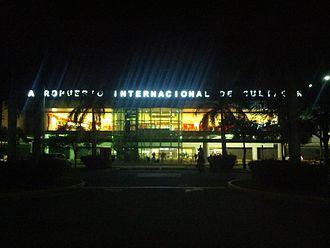 Culiacán International Airport - Airport's new façade.
