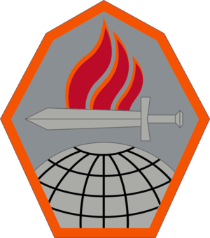 Fort Gordon - Official Shoulder Sleeve Insignia of the US Army Cyber Center of Excellence