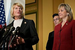 Cynthia Lummis - Congresswoman Cynthia Lummis with colleagues Eric Cantor and Mary Fallin