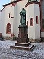 Döbeln Nikolaikirche Lutherstatue 2012-02-08 047.JPG
