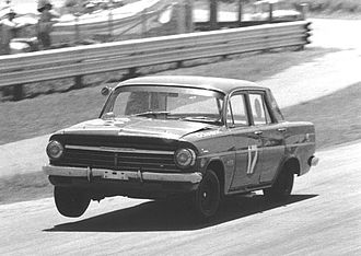 DJR Team Penske - Dick Johnson driving a Holden EH at Lakeside in November 1969