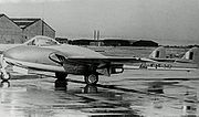 DH.100 Vampire FB52 342 Iraq A.F. Ringway 07.08.53 edited-2