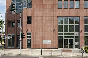 Deutsches Institut für Bautechnik - DIBt, Berlin – Entry area