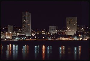 Downtown Portland, Oregon - Downtown Portland in 1973