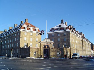 DSB (railway company) - Former DSB headquarters in Copenhagen.