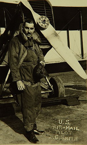 Dean Smith (pilot) - Smith c. 1924