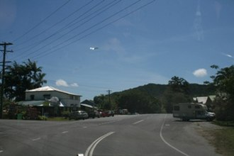 Daintree, Queensland - Daintree Village in the Daintree area in far north Queensland