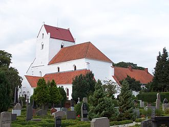 Dalby, Lund Municipality - The Holy Cross Church in Dalby