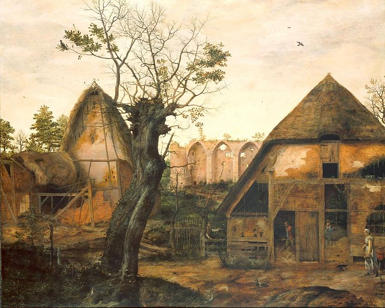 File:Dalem, Cornelis - Landscape with Farmhouse - 1564.jpg