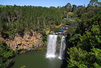 Bielsdown River - Dangar Falls on the Bielsdown River.