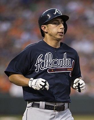 Daniel Castro - Castro with the Atlanta Braves