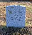 Daniel Hayes Gravestone.JPG
