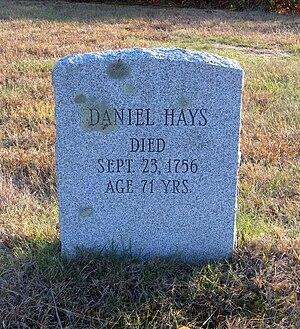 Granby, Connecticut - Daniel Hayes gravestone