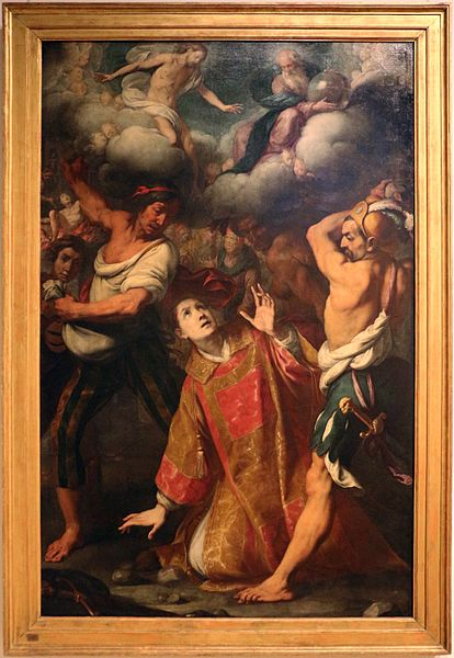 File:Daniele crespi, martirio di s. stefano, post 1622, 01.JPG