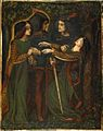 Dante Gabriel Rossetti - How They Met Themselves (1860-64 circa).jpg