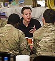 David Cameron with Soldiers in Afghanistan MOD 45154991.jpg