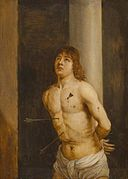 David Teniers after Antonello da Messina - Saint Sebastian GG 6784.jpg