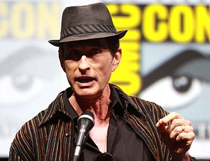 Riddick (film) - David Twohy promoting Riddick at the 2013 San Diego Comic-Con.