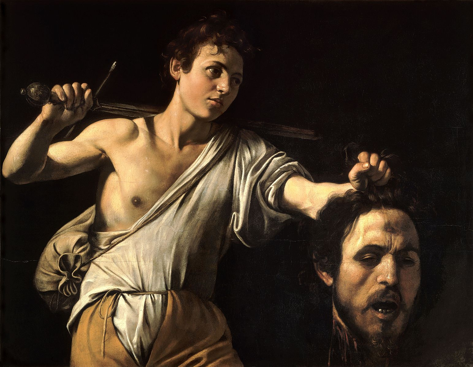 david with the head of goliath essay Guido reni's david in the david with the head of goliath, 1605-06, in the louvre wears what is probably meant to be the skin of a lion or bear, no doubt a reference to david's words in 1 samuel: 17, 34, where he describes how he defended his father's flock against wild animals 13 ibid, cat no 51, repr p 175.
