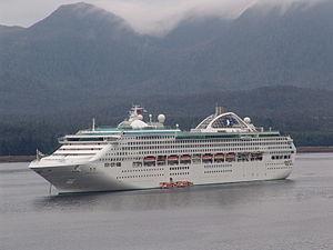 Sun-class cruise ship - Image: Dawn Princess 01