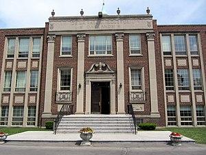 De La Salle College (Toronto) - The front entrance of the school
