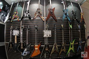 Dean Guitars - Various Dean guitar models
