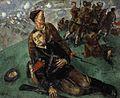 Death of Commissar - Sketch (Kuzma Petrov-Vodkin).jpg