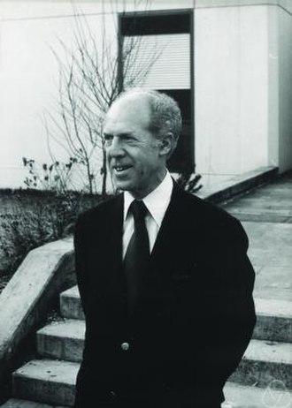 Gérard Debreu - Debreu in 1977