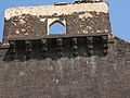Decoration above SW Gate, Janjira Fort.jpg