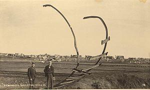 Braamfontein Explosion - Image: Deel Van Die Spoorlyn Waar Die Ontploffing Plaasgevind Het Te Maraisburg Op 19Februarie 1896