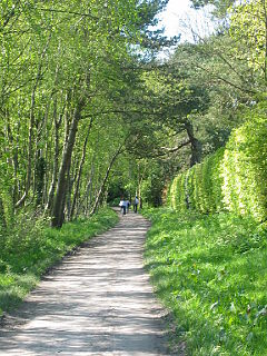 Deeside Way Walking and cycling route following a disused railway line in Aberdeenshire, Scotland