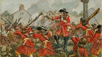 Jacobite rising of 1689 - The Battle of Dunkeld