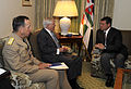 Defense.gov News Photo 100412-F-6655M-001 - Secretary of Defense Robert M. Gates and Chairman of the Joint Chiefs of Staff Adm. Mike Mullen meet with Jordanian King Abdullah II in Washington.jpg