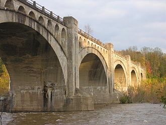Delaware River Viaduct - Image: Delaware River Viaduct