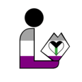 Demiromantic Asexual Library Logo 1.png