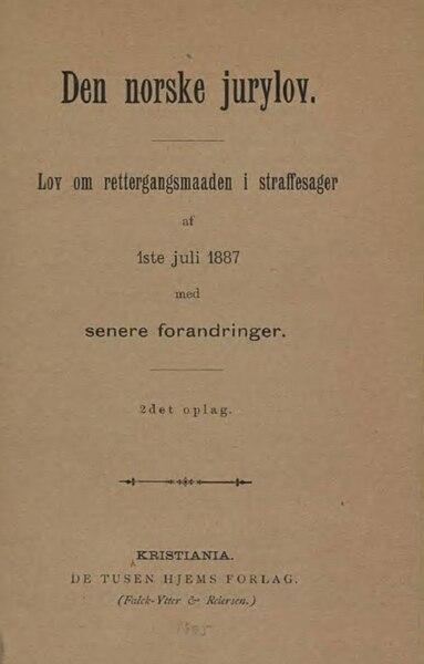 File:Den norske jurylov.djvu