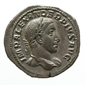 Severus Alexander - A Denarius of Severus Alexander