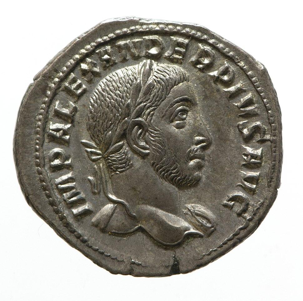 Denarius of Severus Alexander (YORYM 2001 200) obverse