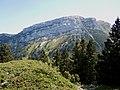 Dent de Crolles depuis col d'Arguille et le Pravouta.jpg