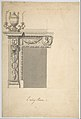 Design for a Chimneypiece in the Eating-room, Danson Park, Kent MET DP800998.jpg