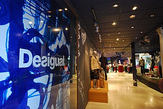 Desigual - A Desigual store in Barcelona, Spain