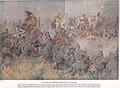 Destruction of an English cavalry brigade near Maubeuge 23. August 1914.jpg