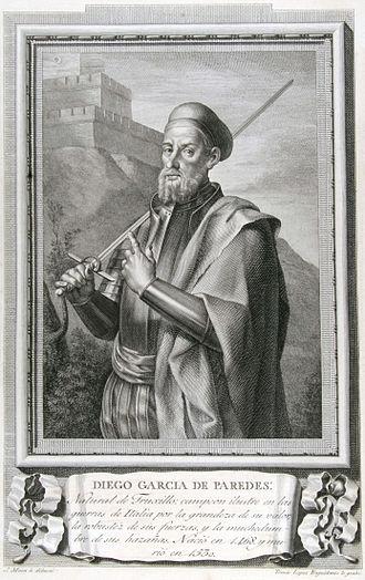 Trujillo, Cáceres - Diego García de Paredes (1466–1534), notable soldier, was a native of Trujillo.