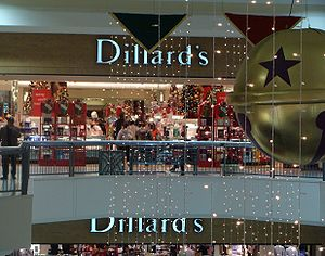 Dillard's -  Dillard's during the Christmas shopping season at Ingram Park Mall in San Antonio, Texas