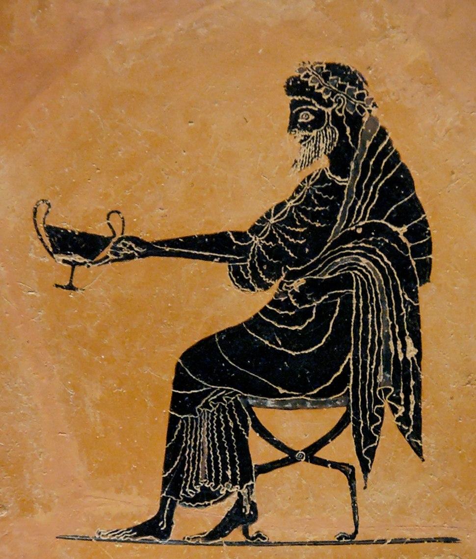 Dionysos kantharos BM B589