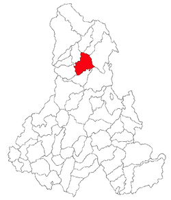 Location of Ditrău